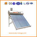 SUS 304 stainless steel freestanding pressurized solar water heater