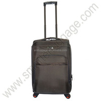 Decent Nylon Travel Luggage Bag with Built-in Casters
