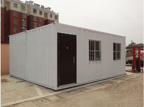 Economical affordable labor office folding container house 40ft container