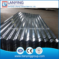 6ft/8ft/10ft/12ft length galvanized corrugated steel sheet in China