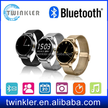 1.5 Inch Screen MP3 Player Sport Fitness Pedometer Bluetooth Touch Screen Mobile Cell Phone Wrist Smart Watch Talking Watches