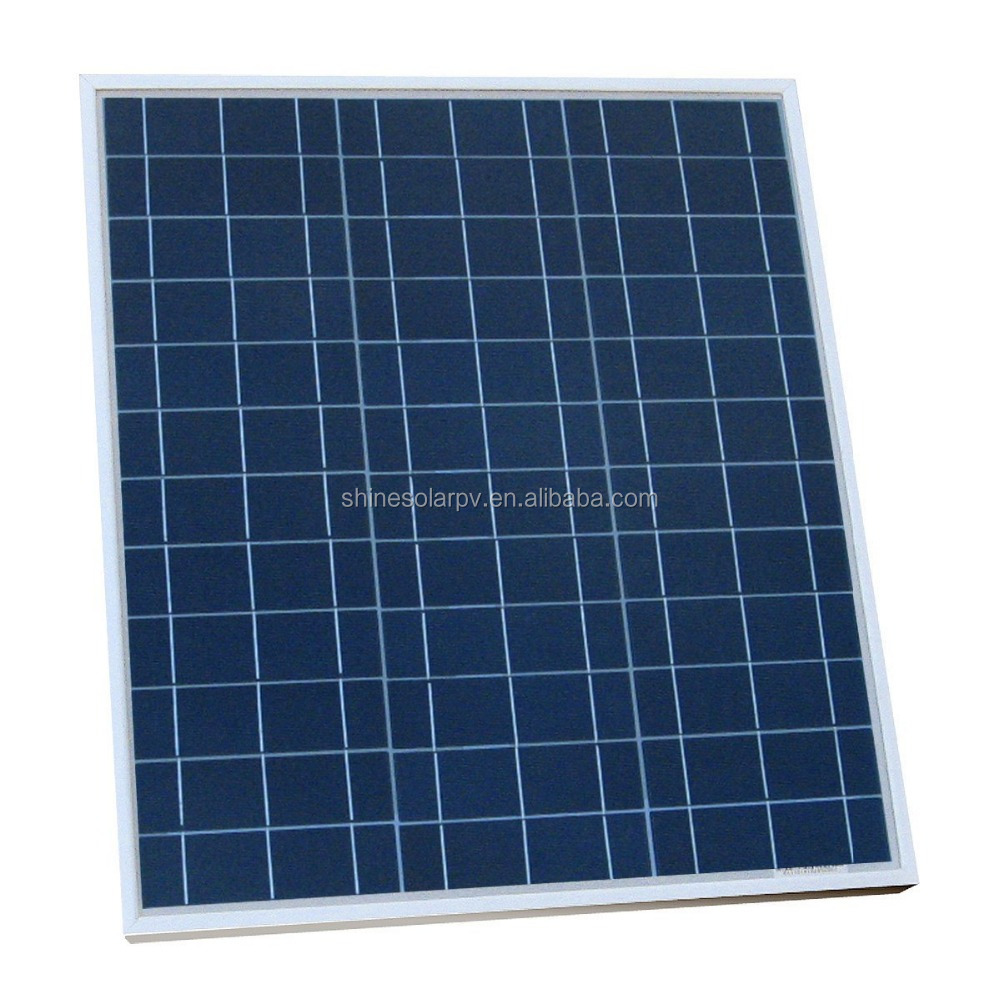 Alibaba china Manufacturer 40w solar panel 12v, price per watt polycrystalline silicon solar panel