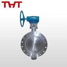 Easy to use flange triple offset hard butterfly valve connection dimensions