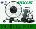48v 1000w rear wheel gearless motor electric kit