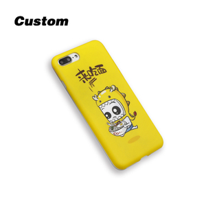 imd/IML phone case frosted tpu case Matte surface custom logo design TPU Gel Case for iphoneX Anti-Scratch Anti-Finger