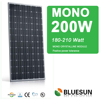 Top quality high performance Mono 200W china solar panels cost