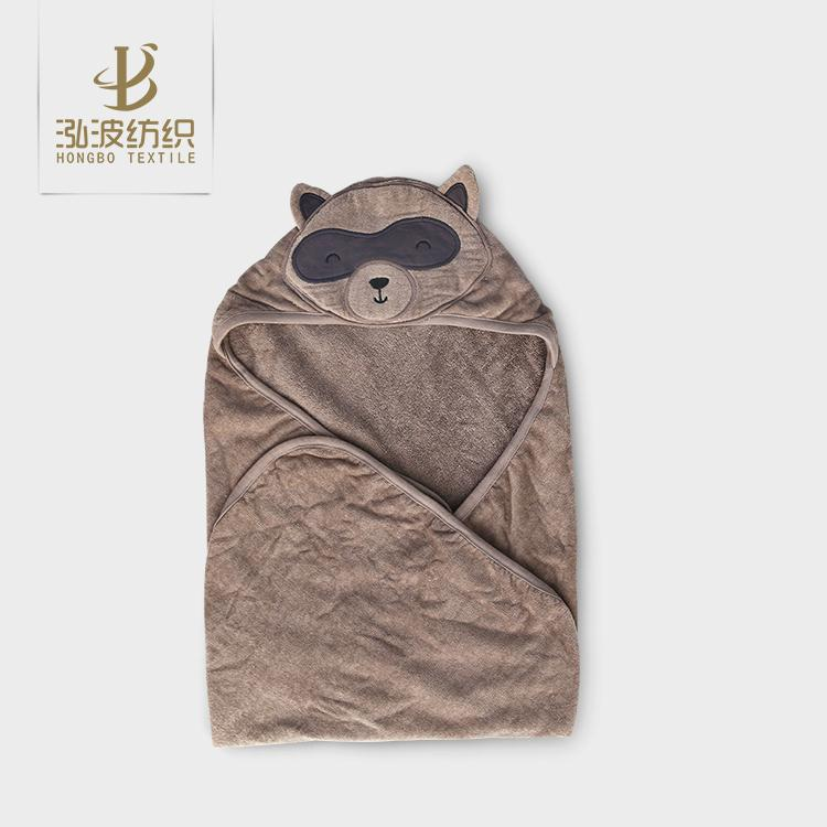 breathable terry and velour towel baby baby towel 400 gsm
