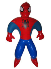 2017 popular new cartoon inflatable spiderman toys