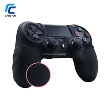 Patent Design Truly Soft Rubber Silicone Skin Cover Case for PS4 Controller