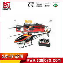 827B-3.5CH 3.5 CH Metal Remote Control RC Helicopter with camera and Gyro