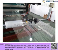 suzhou ocan hot sale clear plastic rigid pet sheet for printing