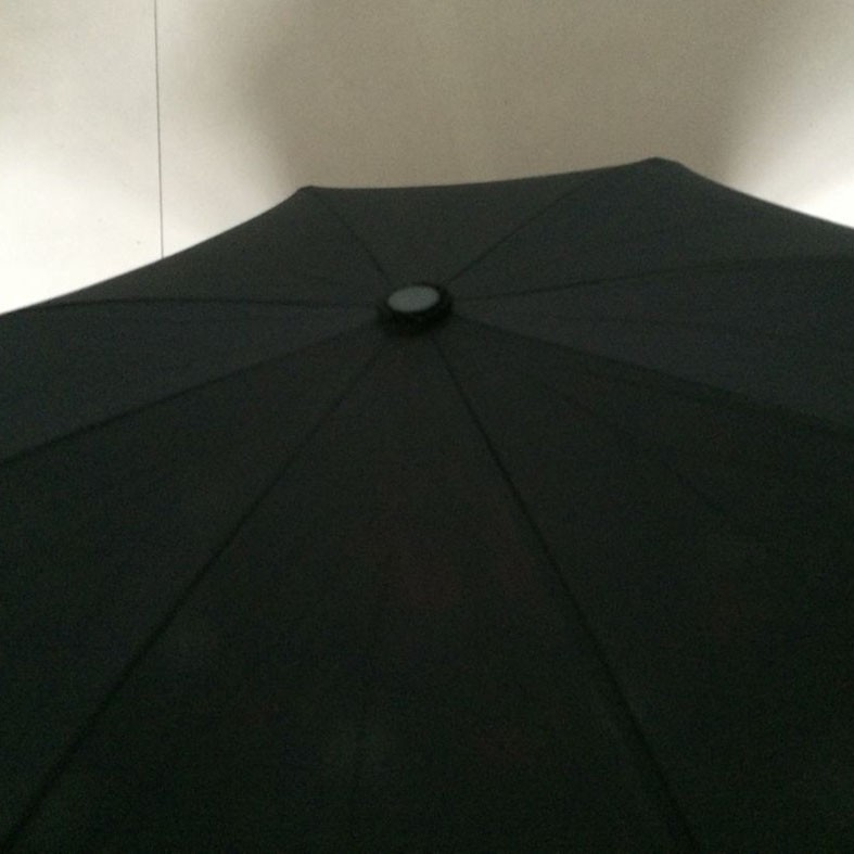 double layer inverted umbrella with rubberied C handle