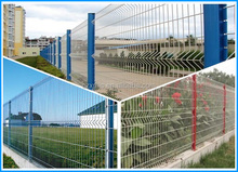 Being Hot! Green Leaf Barrier Cheap Sheet Metal Fence Panels