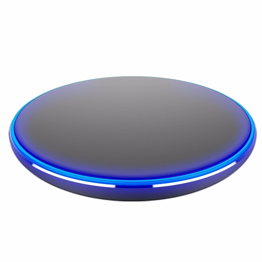 Wireless Charger Desktop 9V, QI Fast Wireless Charger For iphone 8 samsung s8 Smart Phones Chargers