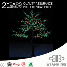 christmas outdoor decoration led pussy willow decorative lights
