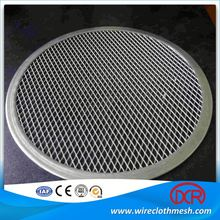 Round Seamless Rim Stainless Steel Pizza Mesh Screen