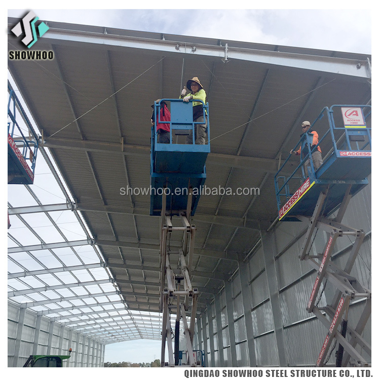 Steel Structure Fabrication Shed Design