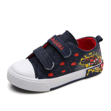 Children Canvas Shoes Wholesale Buckle Boys Shoes