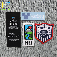 high quality cheap direct factory wholesale hot sale new custom satin woven labels
