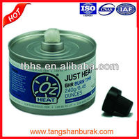 Just Heat liquid safe wick chafing fuel