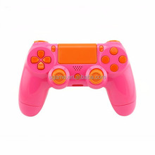Pink Housing Shell Buttons Pad Case Part for PS4 PS 4 Controller DualShock4 4
