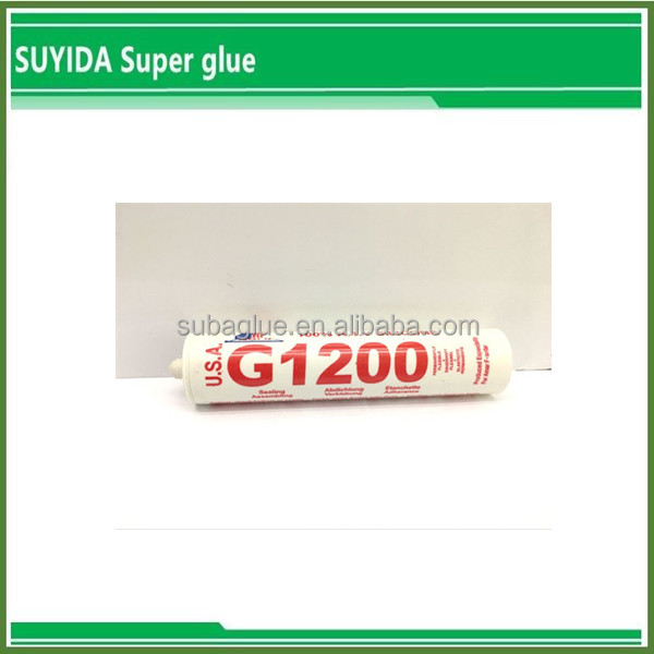 anti-fungus silicon sealant g1200 with sealant gun