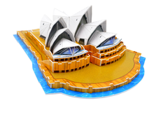 3D paper stereo puzzle World famous architecture Sydney Opera House model