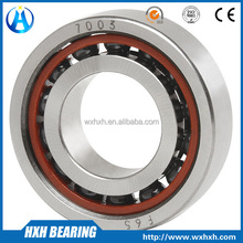 High speed angular contact ball bearings 7003