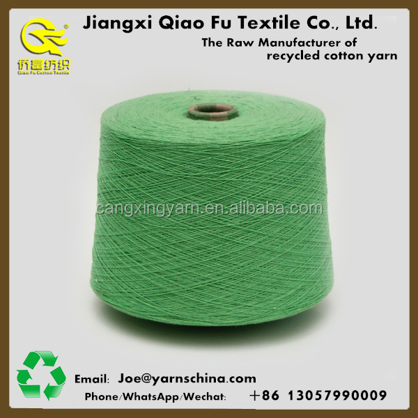 Open end,Blended Regenerated cotton polyester yarn for knitting hammocks,Exported to South Amarica Market