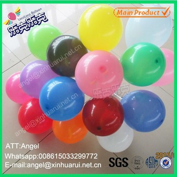 100% natural latex balloon for party decoration