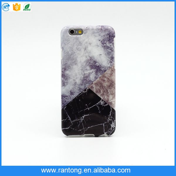 split joint marble tpu protective mobile phone cover