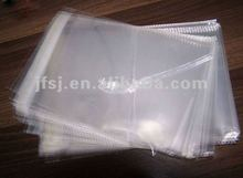 Transprent Bopp CD/DVD bag CD sleeves,plastic bags