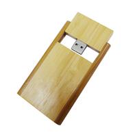 Bamboo 512MB Usb Flash Memory Natural Wood Colors