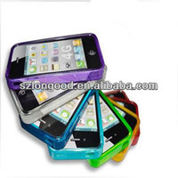 Clear Silicon TPU Soft Full Cover Case For iPhone 4 4S 4G New