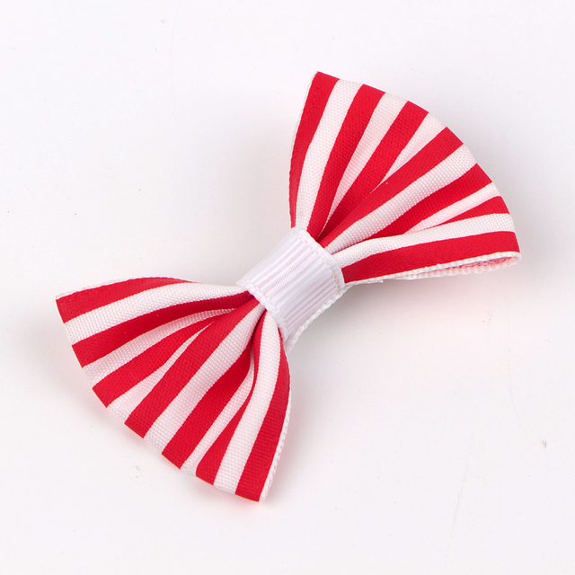 fashion fabric boutique hair bows for kids