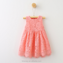 KS10823G Exquisite girls fancy solid color lace dress new summer kids angel dress