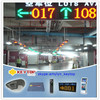 Keytop IP camera based car finder system with parking space indicator for indoor parking lots