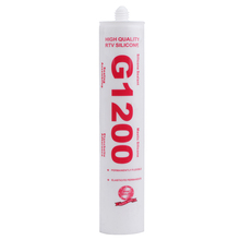 Wholesale Plastic Bottle Packed Flexible Acetic Structural Colored Silicone Sealant G1200