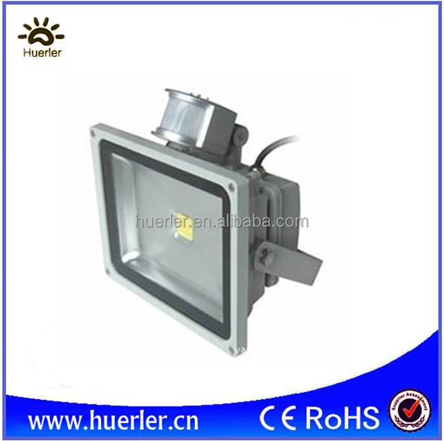 20w PIR sensor floodlight <strong>led</strong> 20watt sensor flood light <strong>led</strong> cob outdoor IP65 110V 220V