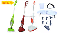 Jiqing HOT selling cheap multifunction home floor carpet 1300W 1500W steam cleaner 10 in 1 steam mop X10 as seen on TV