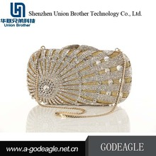 China Wholesale Custom crystal clutch evening bags
