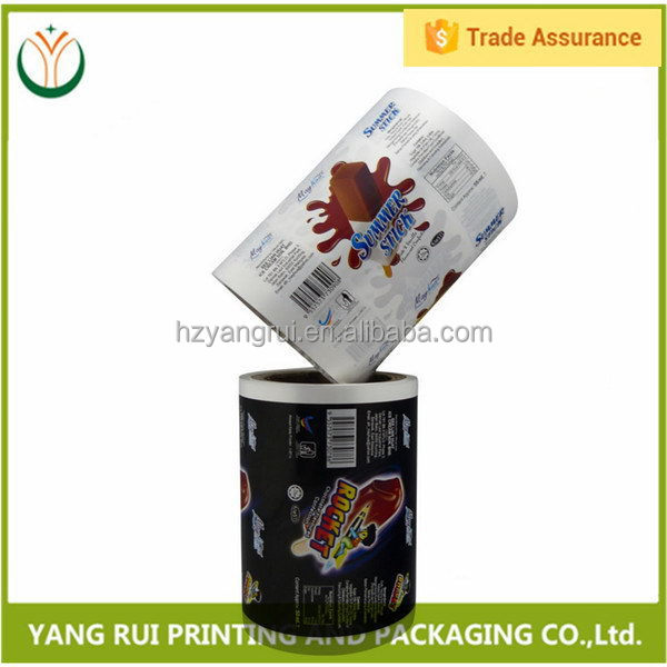 China online selling top sell sealed big packing roll film for snack food,automatic packaging roll film for food