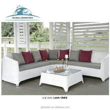 High End Dubai Hotel Patio Leisure Sofa Rattan Surplus Garden Furniture Outdoor