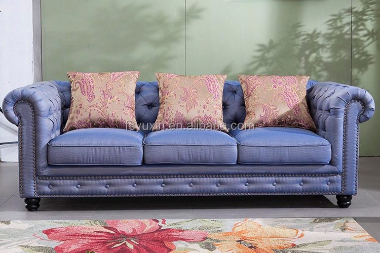 European Style Furniture Chesterfield Sofa for Luxury Sofa Sets or Arab Sofa from Foshan Furniture Market China Factory Supply