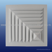 2 ways square HVAC air duct diffuser with aluminum material CD-SA2-B