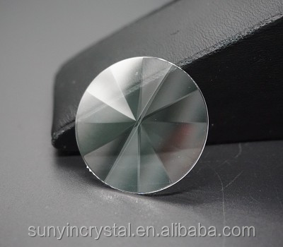 Round brilliant diamond cut Sapphire crystal for Jewelry accessories components rings earrings charm pendant