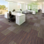 Soundproof Printed Floor Modular Thick Carpet Tiles WP-1 Series