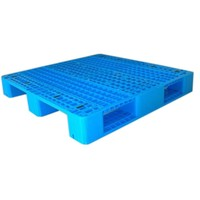 Double Stacking used reinforced plastic pallets