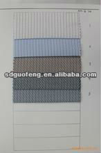 100% Cotton 80/2*80/2 ,150*90 yarn dyed check jacquard mercerized shirting fabric(high quality for business shirt)