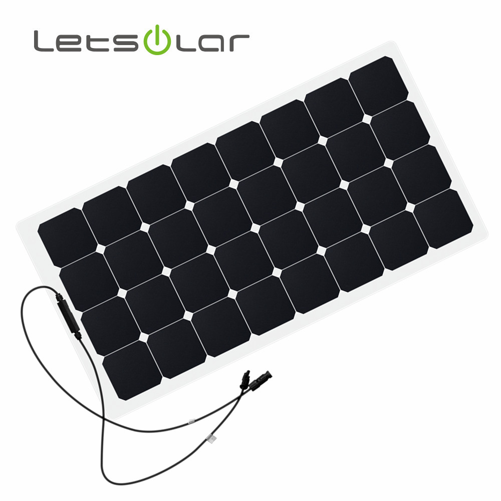 100W 12V portable off grid photovoltaic solar panel